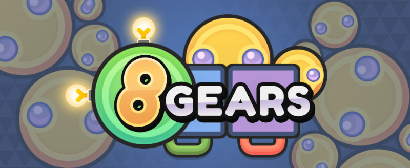 Solve puzzle with gears!