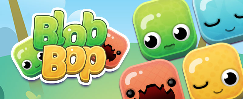 Tap the blobs fast!