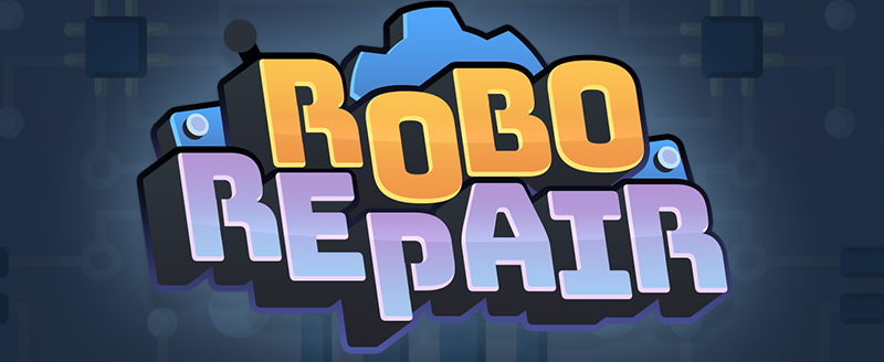 Robo Repair, Co-op puzzle game.